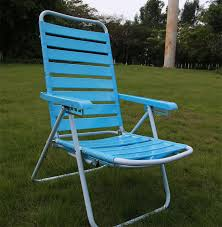 image of blue patio chaise lounge chairs