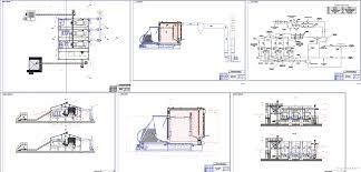 Дипломный проект Модульная котельная мощностью МВт Чертежи РУ Дипломный проект Модульная котельная мощностью 7 5 МВт