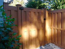 vinyl fence colors. Colored Vinyl Fence Colors