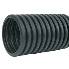 6 in x 10 ft corex drain pipe solid