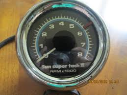 features love for vintage tachometer design page 3 the h a m b i ve used several of the sixties sun super tach ll s retro look no sender required simple four wire hook up including a light