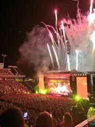 Fireworks Climax Paul Mccartney Rockin Concert In
