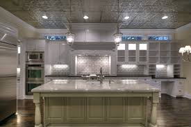 ceiling tile backsplash how to install tin ceiling tiles the home redesign  image of faux tin