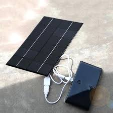 diy solar battery bank portable solar panel power bank battery charger for cell phone