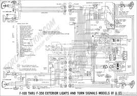 ford truck technical drawings and schematics section h wiring ford f250 wiring diagram 1969 f 100 thru f 350 exterior lights and turn signals (models 81 & 86)