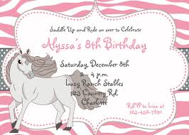 horse birthday invitations inspiration birthday invitation template design real estate in nice looking invitation 27