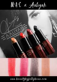 mac x aaliyah collection lipsticks review and swatches beautybyjellybean