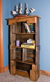 pallet bookshelf tutorial