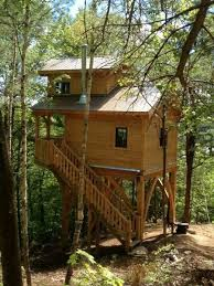 Awesome small house on stilts