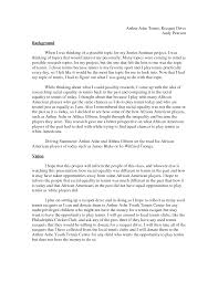 Apa Analysis Research Paper Example