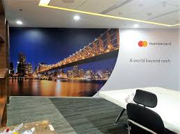 office wallpaper design. Office Decor Improved Using Custom Printed Wallpaper Design A