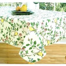 spring tablecloths coffee table cloth vinyl fall outdoor tablecloth flannel backed buy where to o75