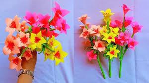 Paper Flower Bouquet Tutorial Videos Tutorials Idea How To Make Paper Flowers Easy Diy