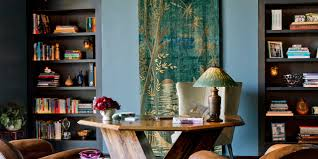 Eclectic home office alison Desk Eclectic Home Office Alison Polka Dot Check Out Jennifer Aniston And Justin Therouxs La Home One Klinikkco Eclectic Home Office Alison Design Eclectic Home Office By Alison