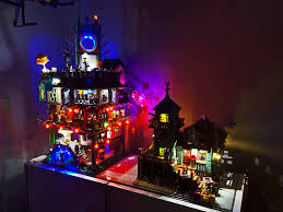 Light My Bricks Light Kits: NINJAGO City & Old Fishing Store : lego
