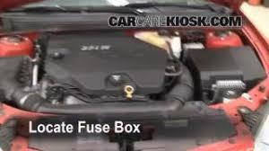 interior fuse box location 2005 2010 pontiac g6 2007 pontiac g6 replace a fuse 2005 2010 pontiac g6
