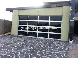 glass panel garage doors celupago co