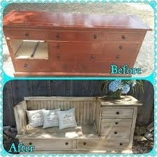redoing furniture ideas. From Dresser To Seating / Storage. #MVReStore Redoing Furniture Ideas I