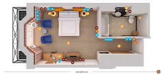 electrical installations electrical layout plan for a typical hotel room andivi