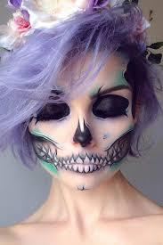 simple sugar skull makeup pin this image on