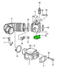 porsche 944 throttle position switch 94460611301 94460611301 porsche 911 924s 944