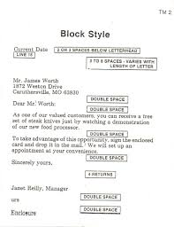 Gallery Of Formal Business Letter Block Format