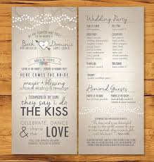 sample wedding program wording wedding ceremony program expin zigy co