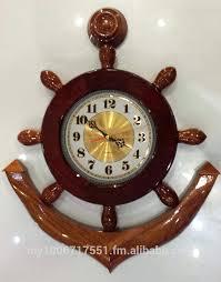 anchor wall clock solid wood ship anchor wall clock decorative wall clock on large anchor wall clock