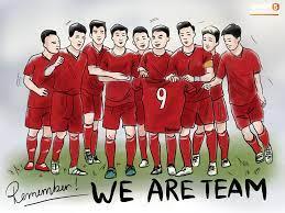Bộ tranh chibi cute hết cỡ về hành trình của tuyển Việt Nam tại AFF Cup 2018