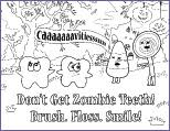 Teeth are a major part of our body. Free Kid S Dental Coloring Sheets Activities And Charts Smartpractice Dental
