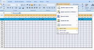 formato de asistencias como hacer un archivo de asistencia en excel 2007 para call center o