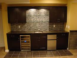 Wet Bar Wall Only Fridge Cabinets Ideas For My Current Dream - Modern basement bars