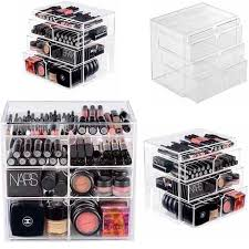 whole makeup msia whole makeup msia new anti scratch clear acrylic cosmetic jewelry makeup organizer box case 4 storage