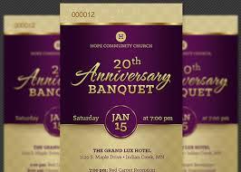 anniversary poster template banquet flyer template rome fontanacountryinn com