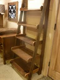 stair bookcase furniture. farmhouse ladder shelf stair bookcase furniture
