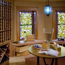 home wine room lighting effect. wine room with bottle stained glass by siemasko u0026 verbridge home lighting effect f