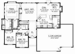 ranch house floor plans. Ranch House Plans With Open Concept New Floor Pleasing Design Ca Style
