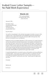 Cover Letter No Job Opening Samples Of A Cover Letter For A Job