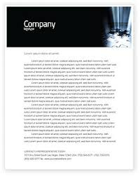 Customized Letterhead Templates In Microsoft Word Adobe