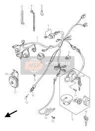 suzuki ls650 savage 1996 spare parts msp wiring harness