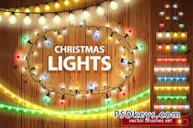 Christmas Lights Decorations Set 111164 » Free Download Photoshop ...