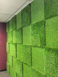 artificial grass used indoors also