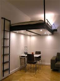 hanging bed with ladder