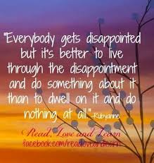 Inspirational Quotes About Disappoint