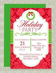 Free Dinner Invitation Templates Printable Extraordinary Christmas Party Microsoft Word Invitation Template Christmas