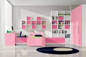 Bedroom Simple Pink Theme Using Satin Button Tufted Upholstered - Girls bedroom decor ideas
