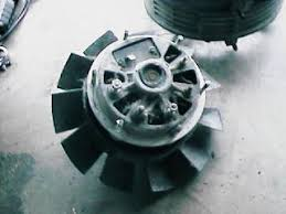 porsche alternator fan replacement and upgrade  alternator and fan assembly