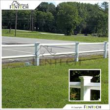 white fence post. Fentech White Vinyl Diamond Rail Plastic Garden Fence Farm Fencing With 5\u0026quot; PVC Post T