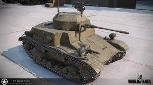 Wot T2 Light T2 Light Tank Hd Renders The Armored Patrol