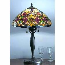 cleaning lamp shades glass table stained shade glassware